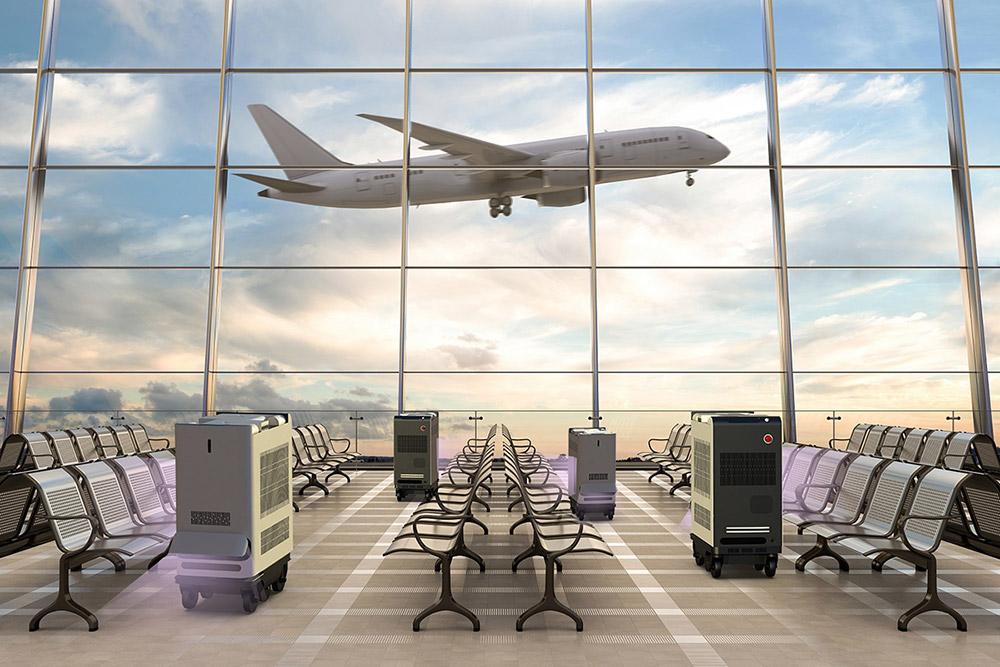 至善智能紫外消毒机场应用
