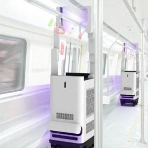科技赋能紫外消杀,至善Ⅰ号 紫外消杀机器人亮相2020中国国际交易会