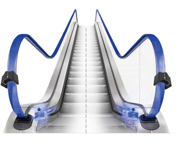 至善智能紫外自动扶梯灭菌器